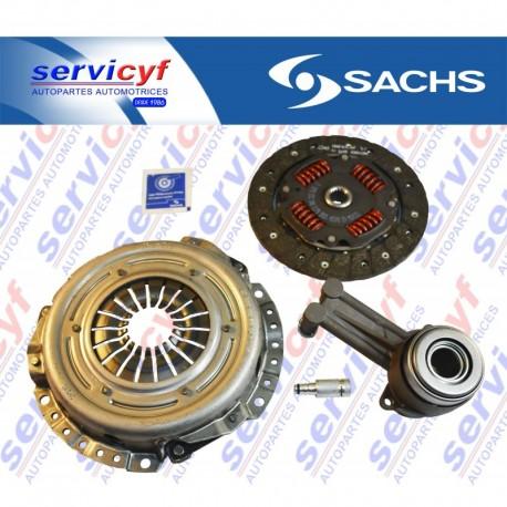 EMBRAGUE FORD Fiesta 1.6L L4 92-95HP OHC 2011-2012